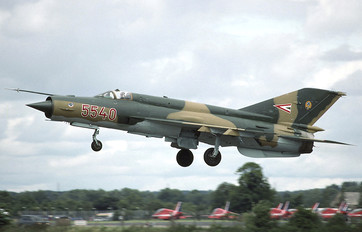 5540 - Hungary - Air Force Mikoyan-Gurevich MiG-21bis