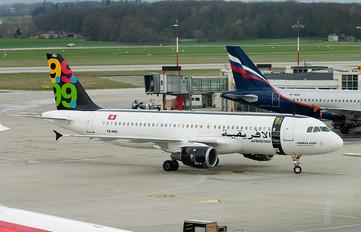 TS-ING - Afriqiyah Airways Airbus A320