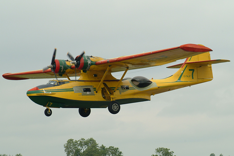 C Fnjf Private Consolidated Pby 5a Catalina At Fairford Photo