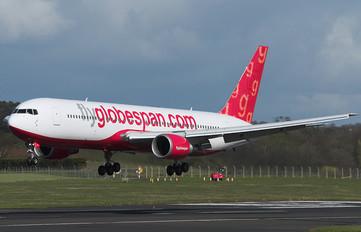 G-CDPT - Flyglobespan Boeing 767-300ER