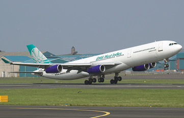 9Y-JIL - British West Indian Airlines Airbus A340-300
