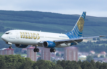 5B-DBH - Helios Boeing 737-800