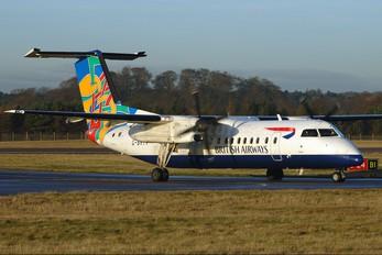 G-BRYV - British Airways de Havilland Canada DHC-8-300Q Dash 8
