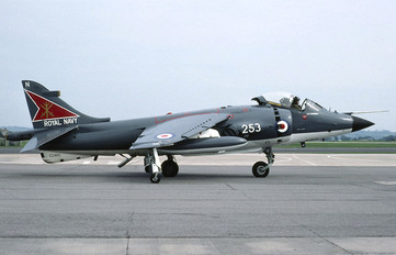 XZ460 - Royal Navy British Aerospace Sea Harrier FRS.1