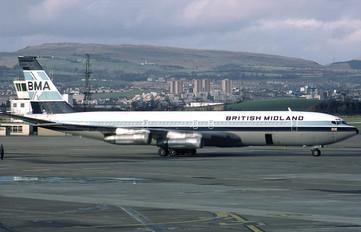 G-BFLE - BMI British Midland Boeing 707