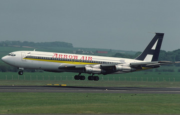 N707JJ - Arrow Air Boeing 707-300