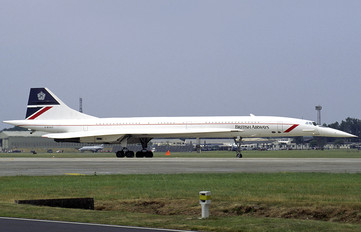 G-BOAC - British Airways Aerospatiale-BAC Concorde