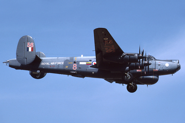 Royal Air Force WL756 aircraft at Leuchars
