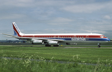 C-GQBF - Quebecair Douglas DC-8