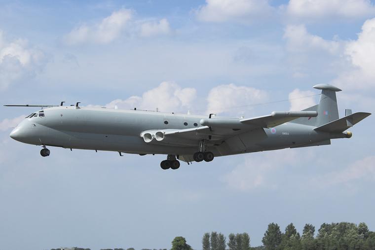 Royal Air Force XW664 aircraft at Fairford