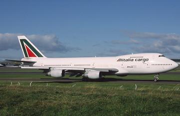N518MC - Alitalia Cargo Boeing 747-200F