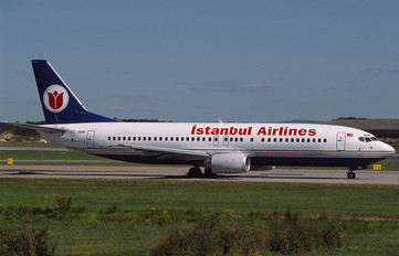 TC-AVA - Istanbul Airlines Boeing 737-400