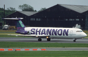 G-AVMT - AB Shannon BAC 111