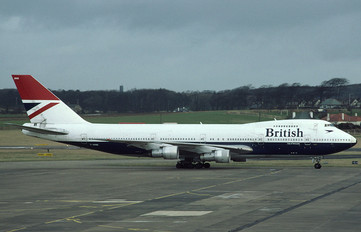 G-AWNB - British Airways Boeing 747-100