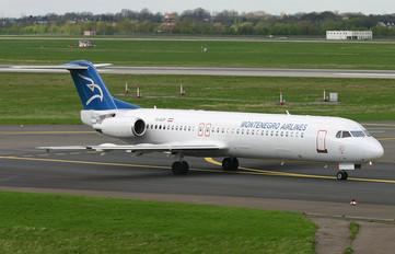 YU-AOP - Montenegro Airlines Fokker 100