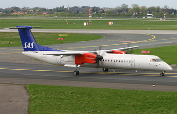 LN-RDK - SAS - Scandinavian Commuter de Havilland Canada DHC-8-400Q / Bombardier Q400