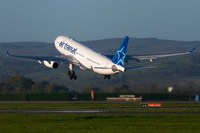 c gpts air transat airbus a330 200 at glasgow photo id 1428 airplane pictures net