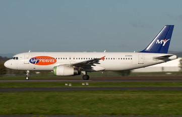 G-ERAA - MyTravel Airways Airbus A320