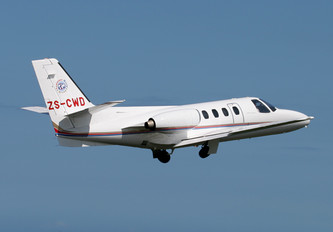 ZS-CWD - Private Cessna 501 Citation I / SP