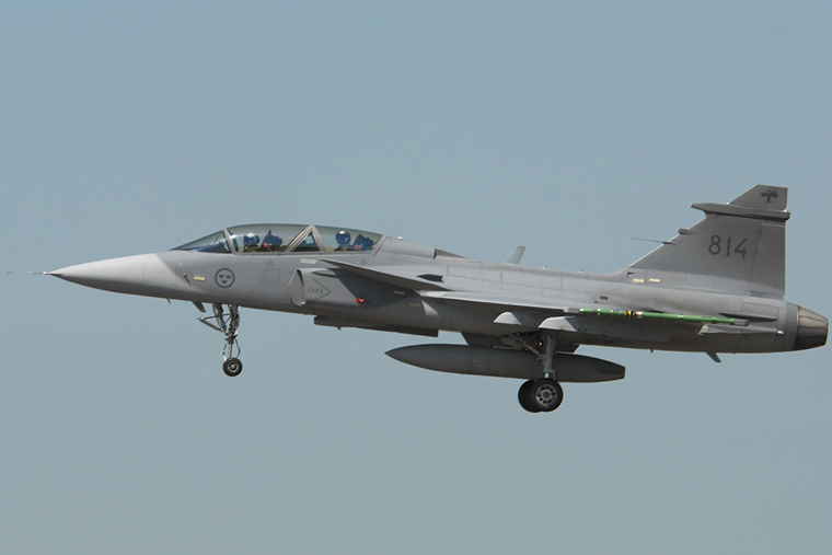 Sweden - Air Force 39814 aircraft at Fairford