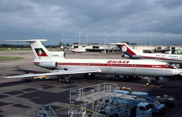 LZ-BTU - Balkan Tupolev Tu-154B