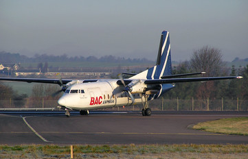 G-BMXD - BAC Express Fokker F27