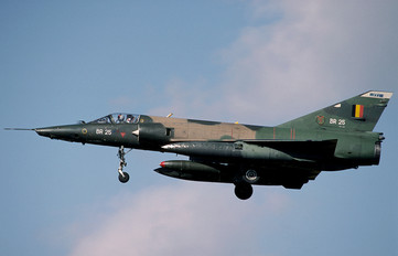 BR-25 - Belgium - Air Force Dassault Mirage V