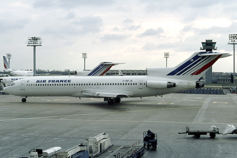 F bpjk air france boeing 727 200 at paris orly photo id 1767 airplane - Comptoir air france orly telephone ...
