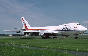C-FDJC - Wardair Boeing 747-100