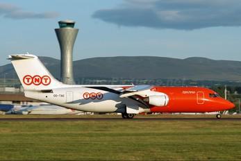 OO-TAE - TNT British Aerospace BAe 146-200/Avro RJ85-QT Quiet Trader
