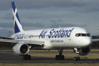 SX-BLW - Air Scotland Boeing 757-200