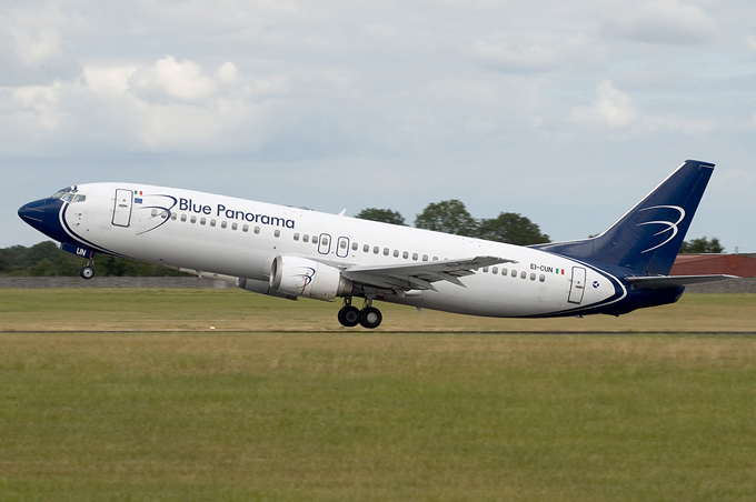 Blue Panorama Airlines EI-CUN aircraft at Dublin