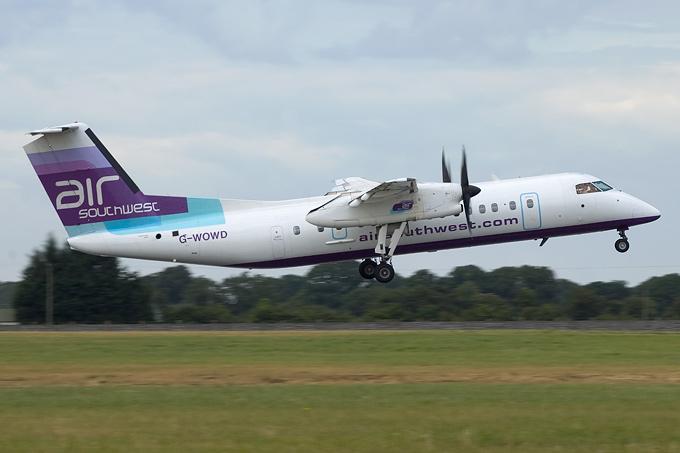 Air Southwest G-WOWD aircraft at Dublin