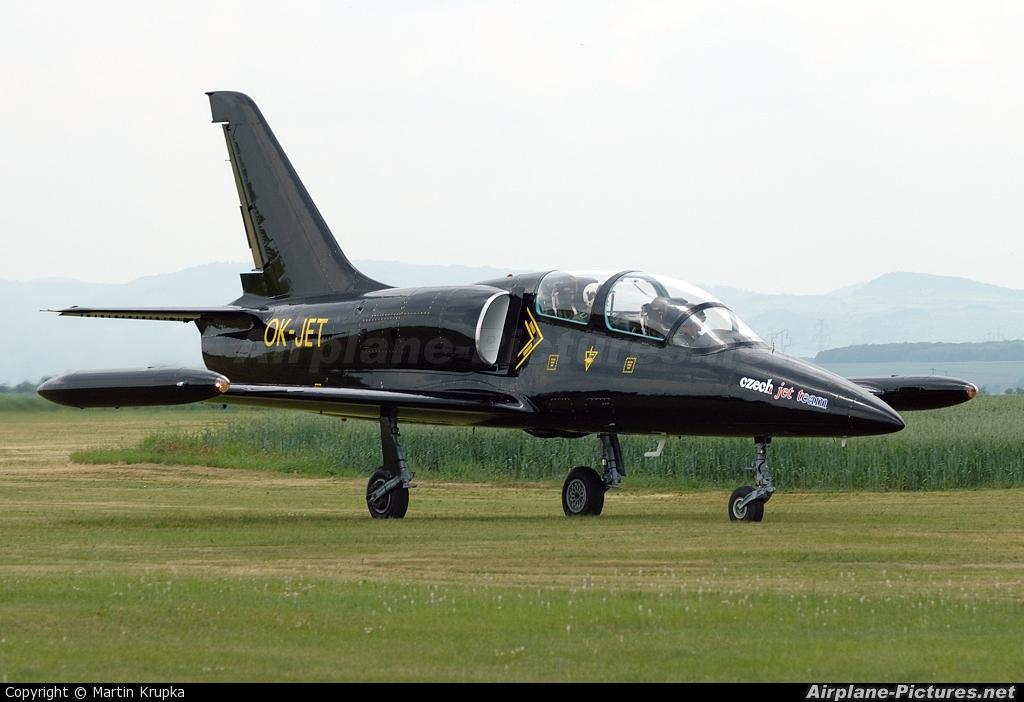 Czech Jet Team OK-JET aircraft at Žatec - Macerka