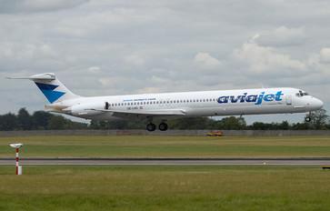 OE-LHG - Aviajet McDonnell Douglas MD-83
