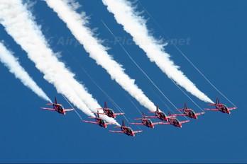 "XX253 - Royal Air Force ""Red Arrows"" British Aerospace Hawk T.1/ 1A"