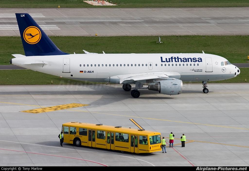 Lufthansa D-AILH aircraft at Zurich
