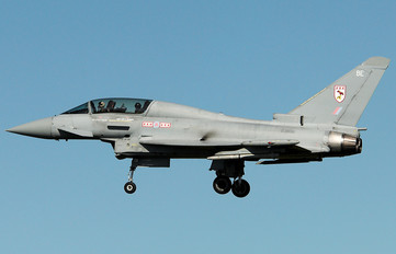 ZJ806 - Royal Air Force Eurofighter Typhoon T.1