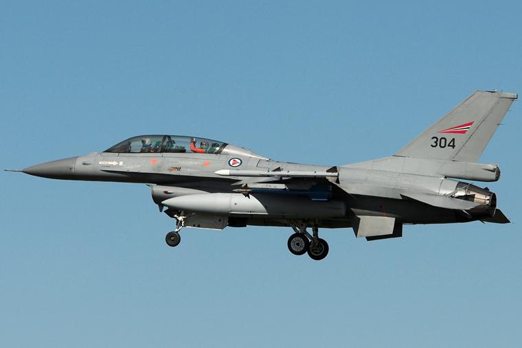 Norway - Royal Norwegian Air Force 304 aircraft at Leuchars