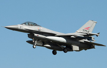 275 - Norway - Royal Norwegian Air Force General Dynamics F-16A Fighting Falcon