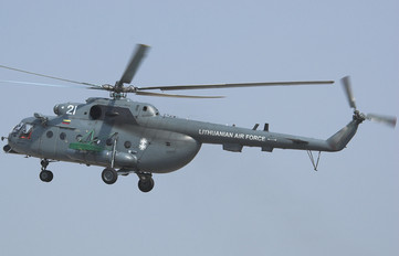 21 - Lithuania - Air Force Mil Mi-8MTV-1