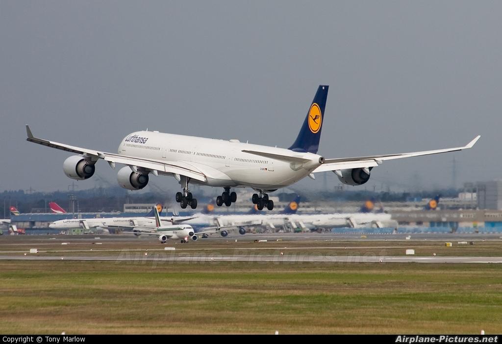 Lufthansa D-AIHI aircraft at Frankfurt