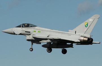 ZJ917 - Royal Air Force Eurofighter Typhoon F.2