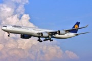 D-AIHL - Lufthansa Airbus A340-600 aircraft