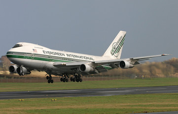 N478EV - Evergreen International Boeing 747SR