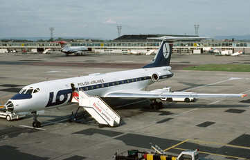 SP-LHD - LOT - Polish Airlines Tupolev Tu-134A