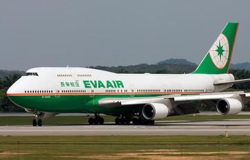 B-16406 - Eva Air Boeing 747-400