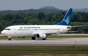 PK-GZA - Garuda Indonesia Boeing 737-400