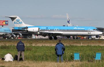 PH-OFI - KLM Cityhopper Fokker 100