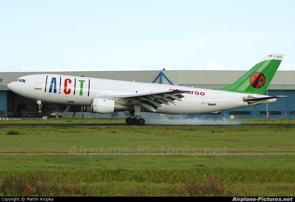 ACT Cargo TC-ACU aircraft at Amsterdam - Schiphol